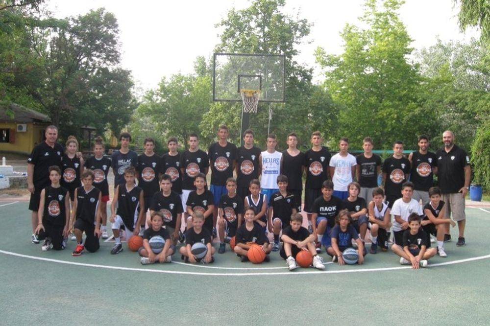 ΠΑΟΚ: Πάθος για μπάσκετ στη Χαλκιδική (photos)
