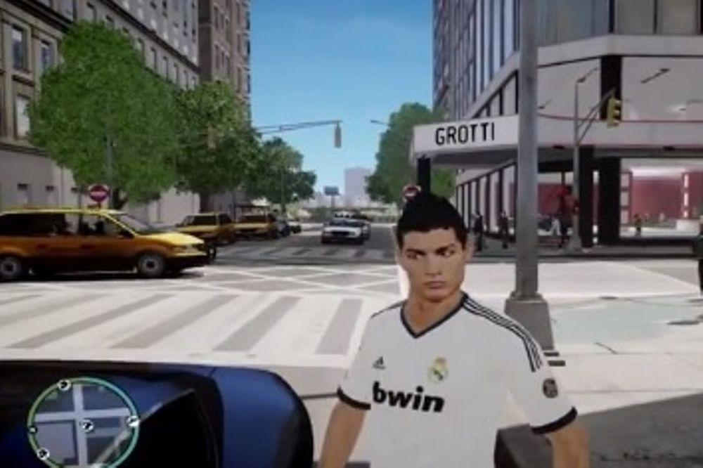 Ρεάλ Μαδρίτης: Στο Grand Theft Auto ο Ρονάλντο! (video)