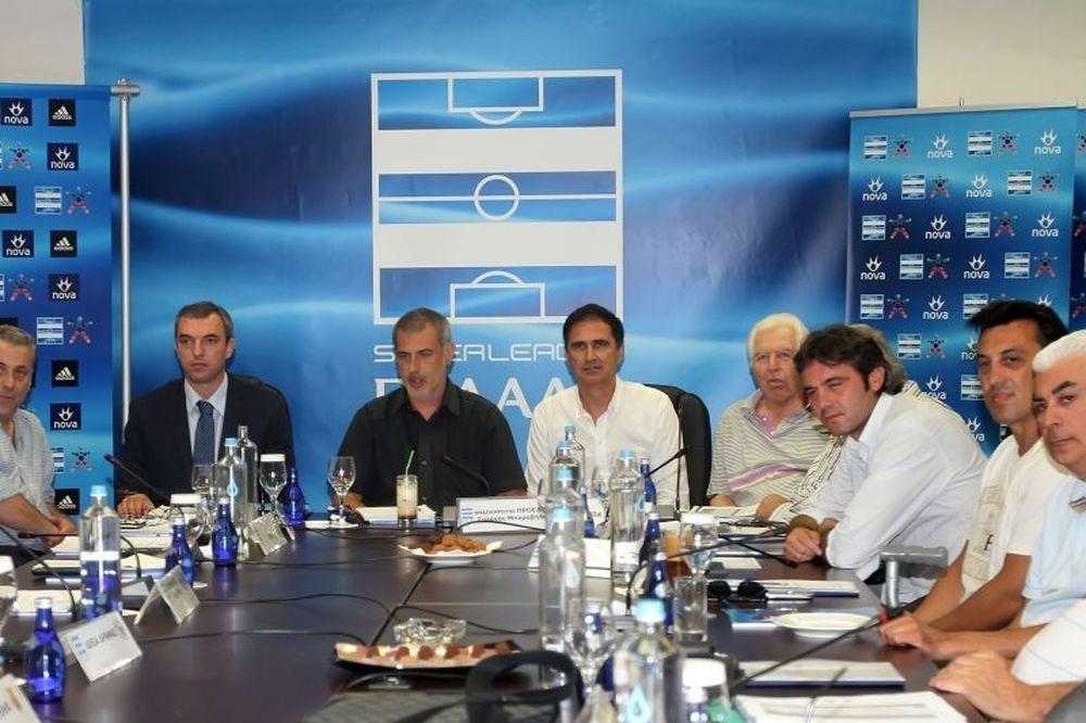 Super League: ΔΣ για τηλεοπτικά και αναδιάρθρωση