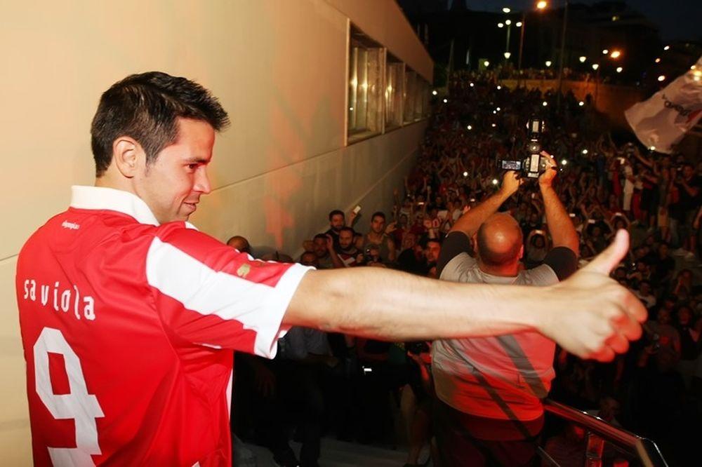 Ολυμπιακός: Παγκόσμιος… ο Σαβιόλα! (photos)