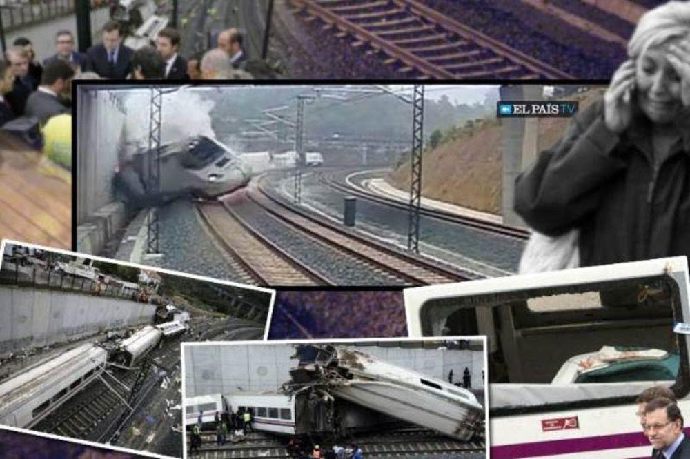 Βίντεο – ΣΟΚ: Η στιγμή του εκτροχιασμού του τρένου στην Ισπανία