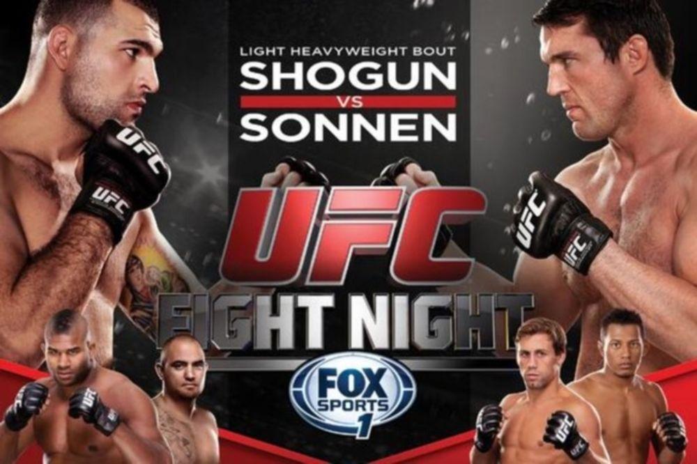 UFC Fight Night 26: Πόστερ για «Sonnen vs Rua»