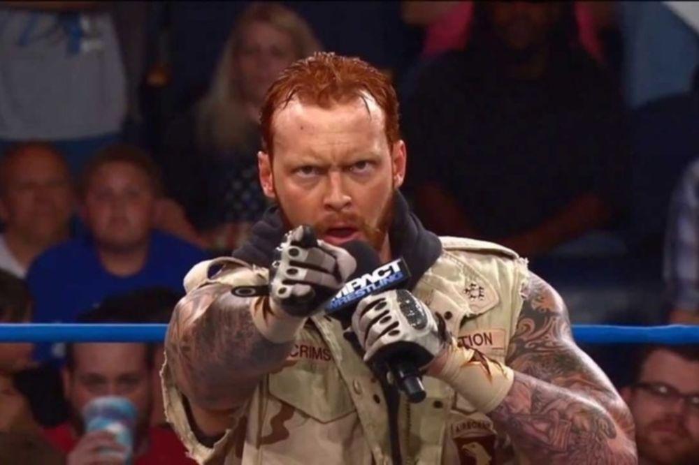 TNA Impact Wrestling: Τραυματισμένος αποδεσμεύτηκε ο Crimson