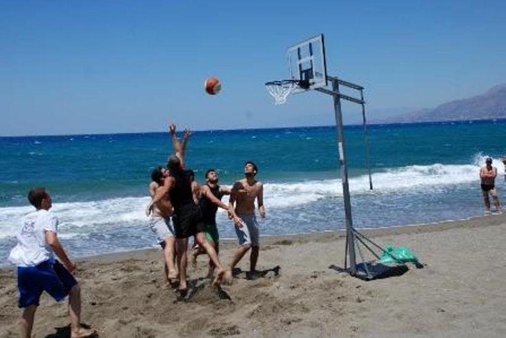 Εργοτέλης: Μπάσκετ στην άμμο