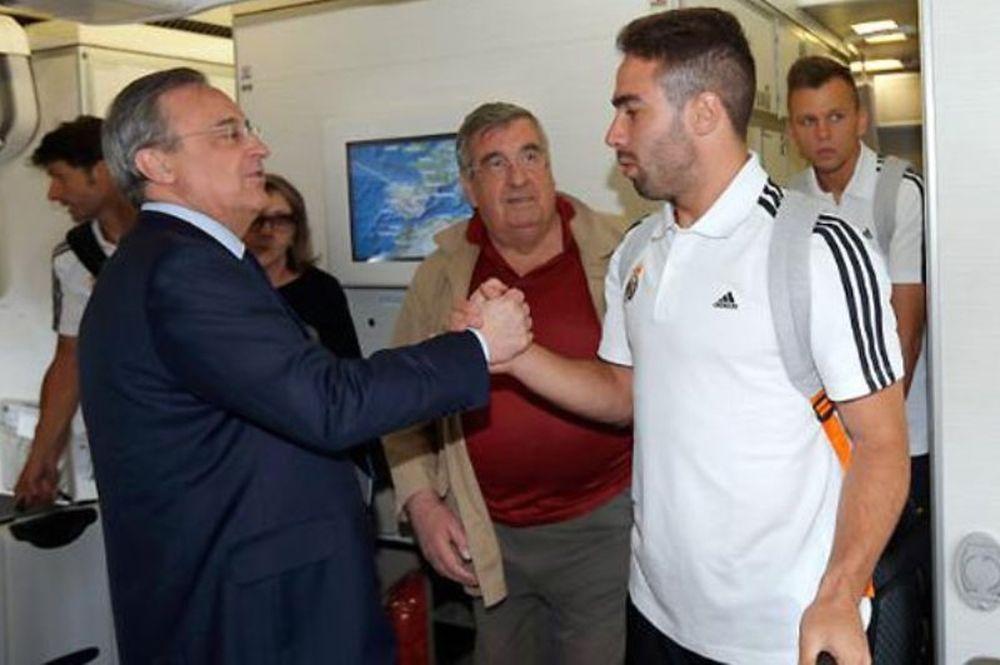Ρεάλ Μαδρίτης: Η πτήση για τις ΗΠΑ (photos)