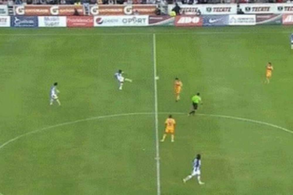 Απίστευτο γκολ από τα 65 μέτρα (video)