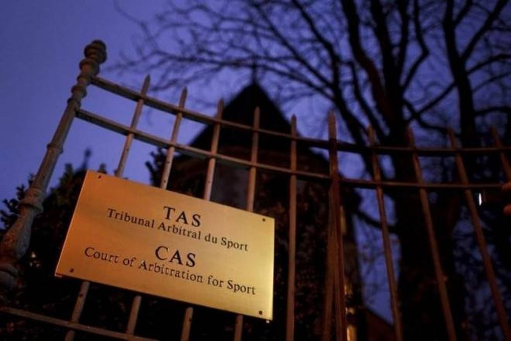 Μέταλιστ: Η απόρριψη από το CAS