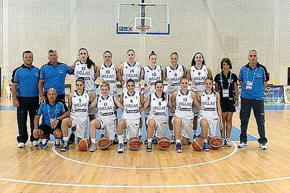 Εθνική Μπάσκετ Νεανίδων: Ήττα και από Σλοβενία
