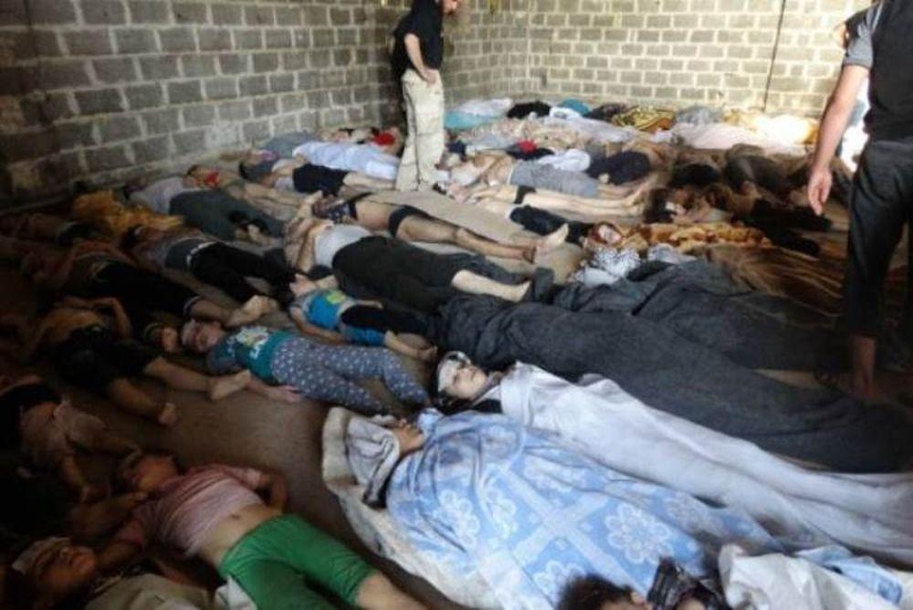 Συρία - Eικόνες ΣΟΚ: Εκατοντάδες νεκροί από επίθεση με χημικά