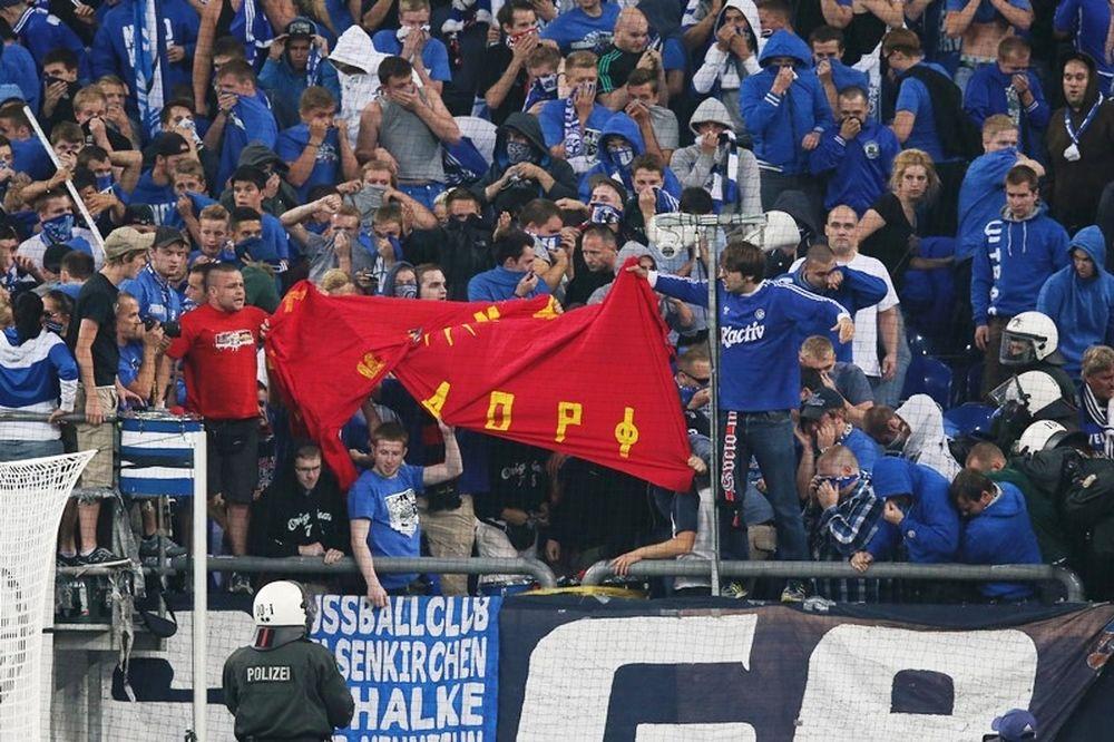 Σάλκε: Την καλεί η UEFA για το πανό
