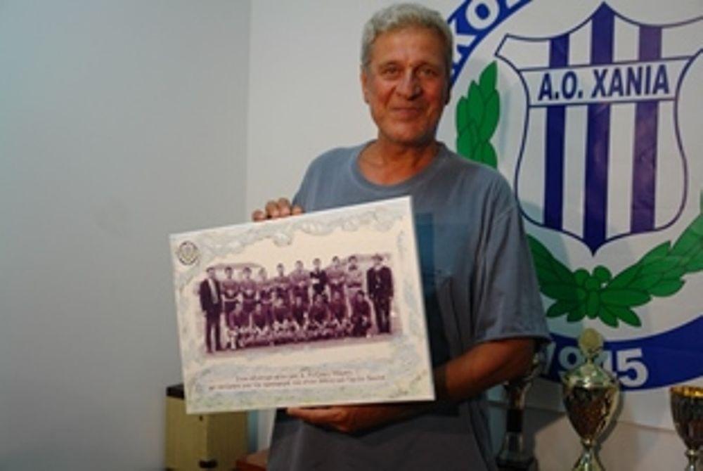 Χανιά: Παρουσιάστηκαν οι ποδοσφαιριστές, βραβεύτηκε ο Ρεϊζάκης (photos)