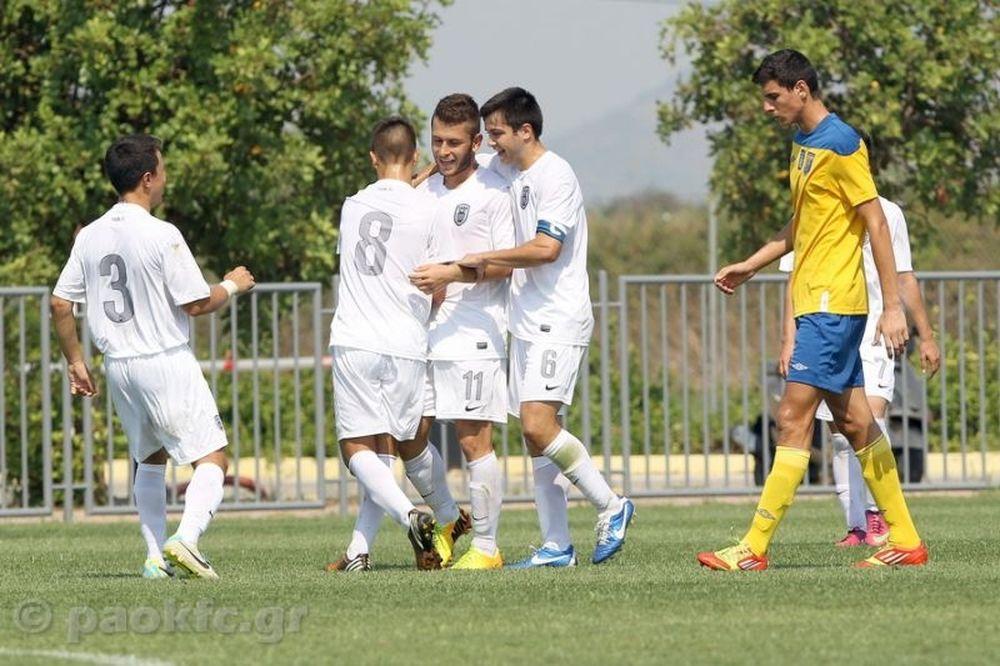 Παναιτωλικός-ΠΑΟΚ 0-3 (Κ20)