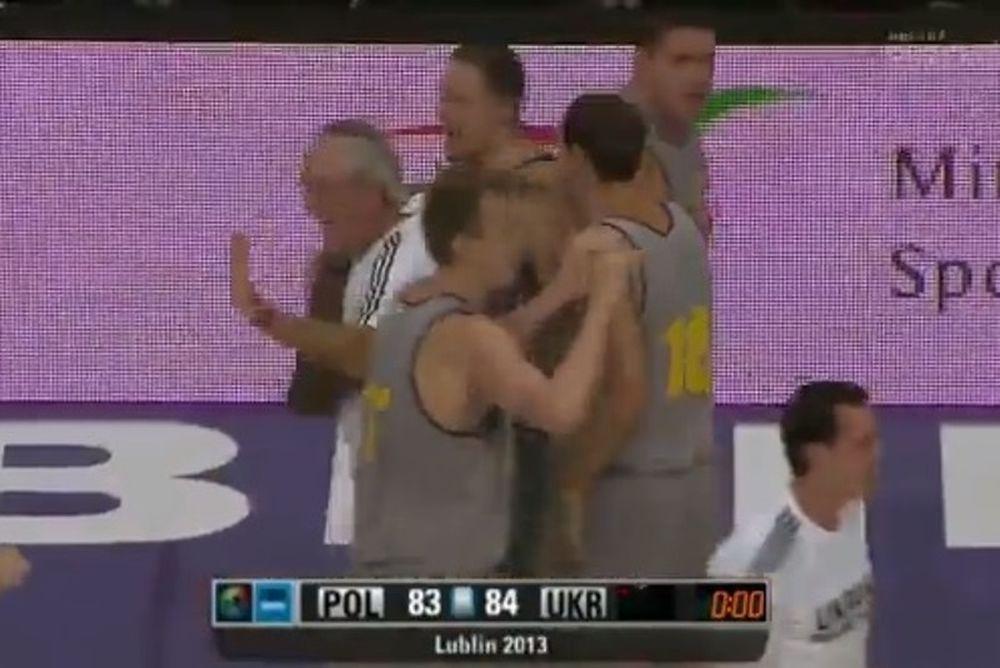 Φιλικά Ευρωμπάσκετ: Η απίστευτη ανατροπή της Ουκρανίας (video)