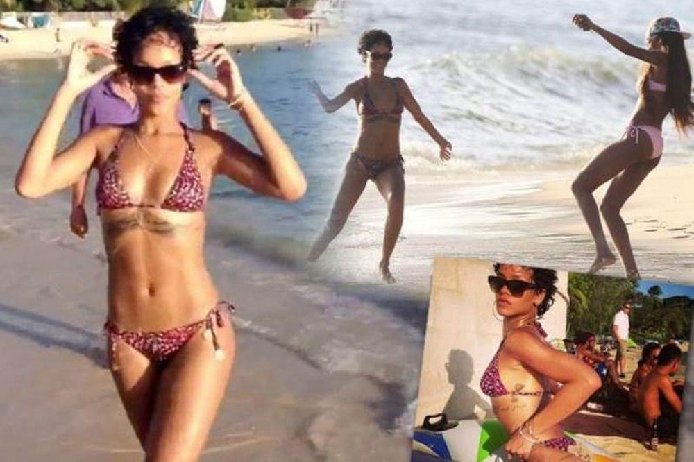 Η Rihanna παίζει μπάλα με… μπικίνι
