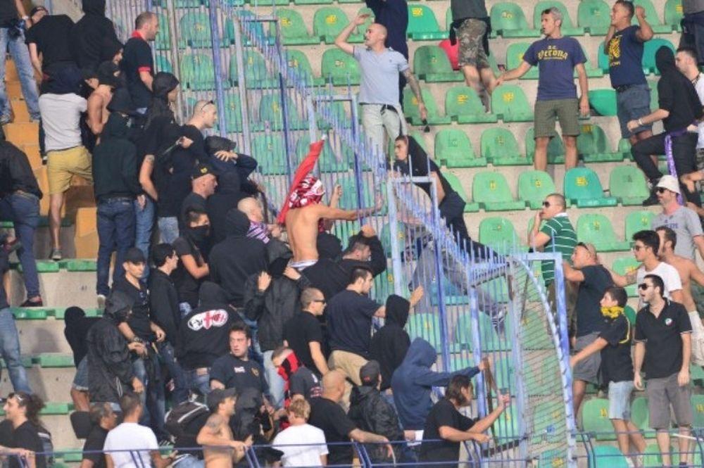 Serie A: Επεισόδια και τραυματισμοί στην Ιταλία! (video)