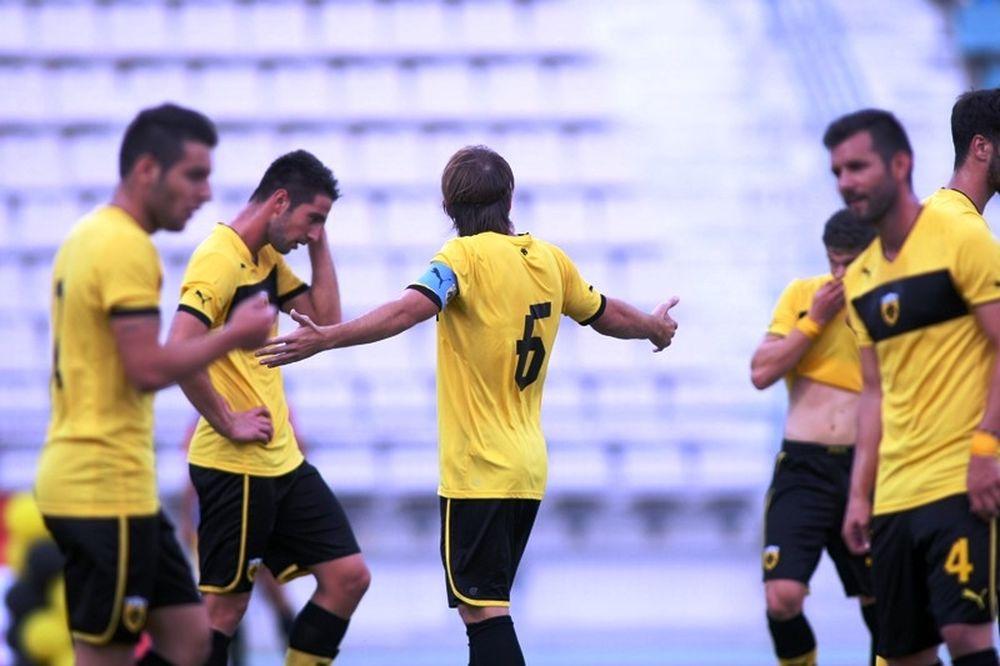 Απογοήτευσε η ΑΕΚ, 3-1 από Νίκη Βόλου (photos)