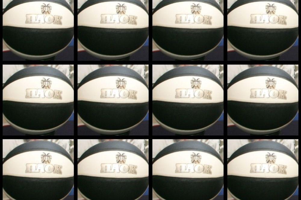 ΠΑΟΚ: Ασπρόμαυρη μπάλα μπάσκετ με τα διαρκείας!