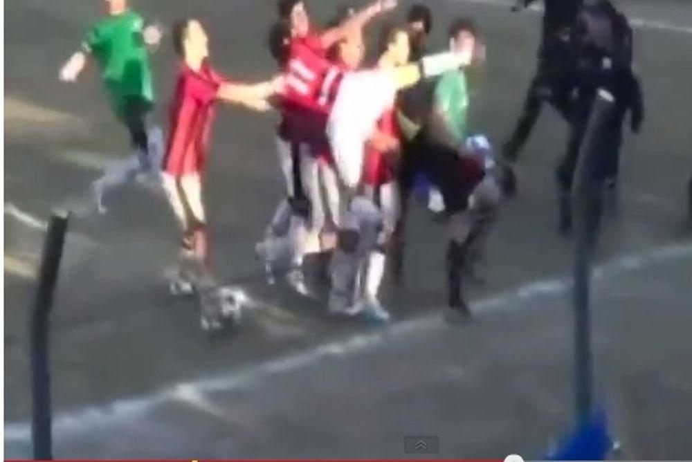 Παραγουάη: Παίκτης κλώτσησε διαιτητή στο πρόσωπο! (video)