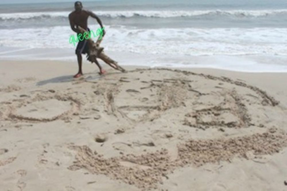 Ο Λάσμε «σκούπισε» και την παραλία!