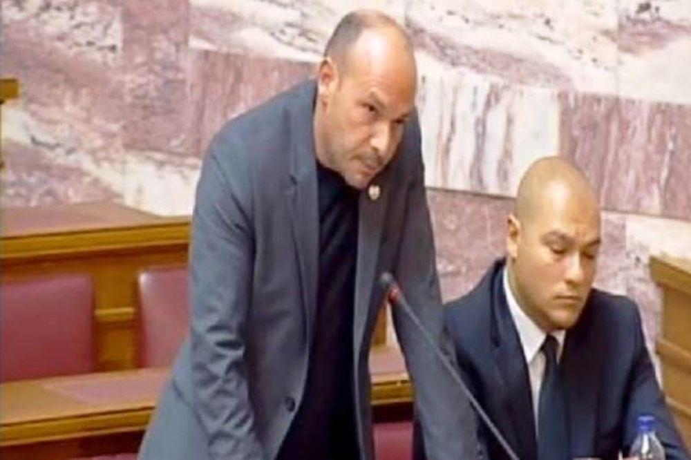 Ανακλήθηκε η άδεια οπλοφορίας του βουλευτή της ΧΑ Αντώνη Γρέγου