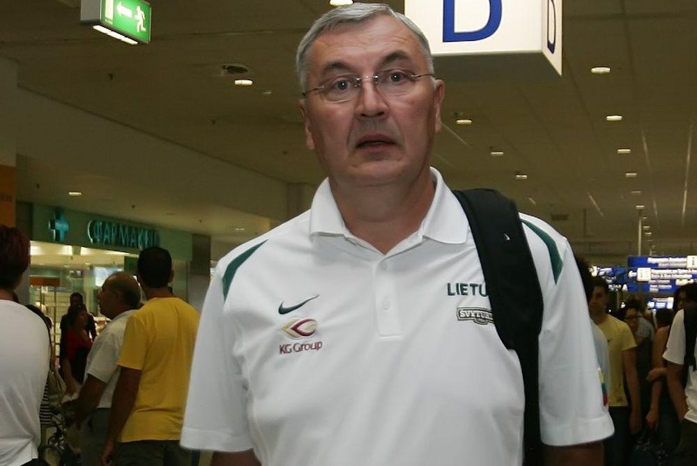 Καζλάουσκας: «Καλή ομάδα η Ελλάδα»