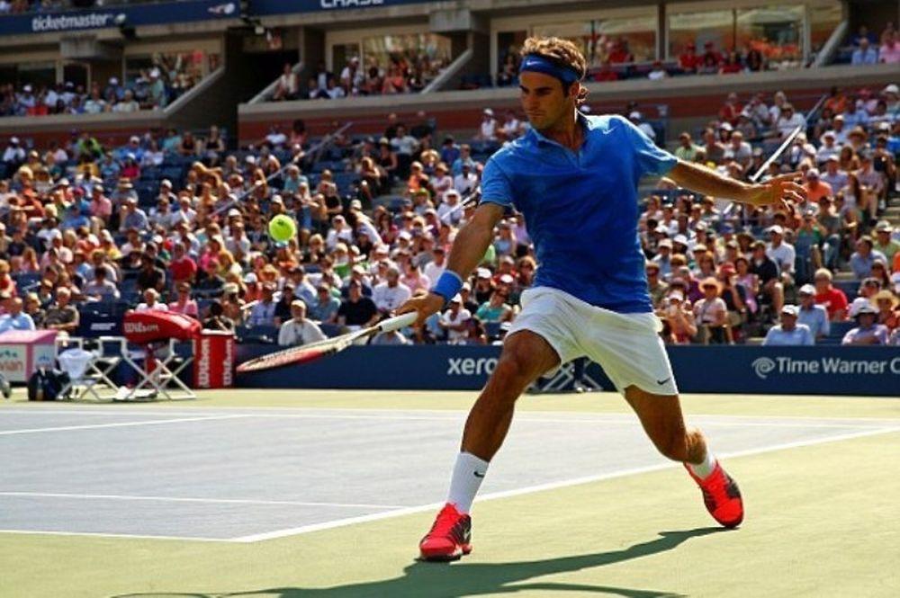US Open: «38άρης» ο Φέντερερ (photos+video)