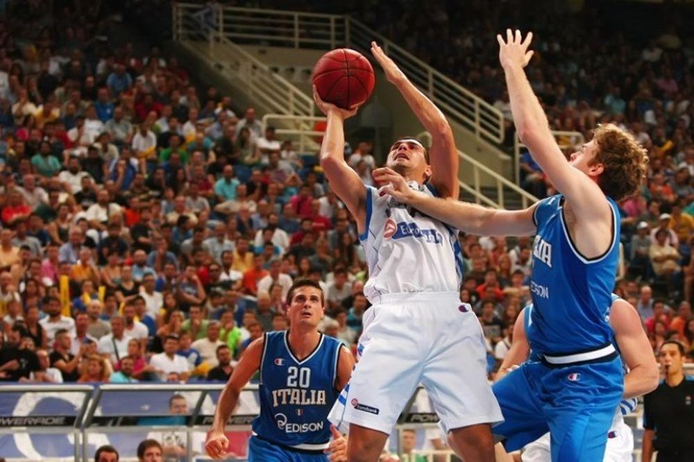 Εθνική Μπάσκετ Ανδρών: Κατέκτησε το Ακρόπολις, 79-65 την Ιταλία (photos)