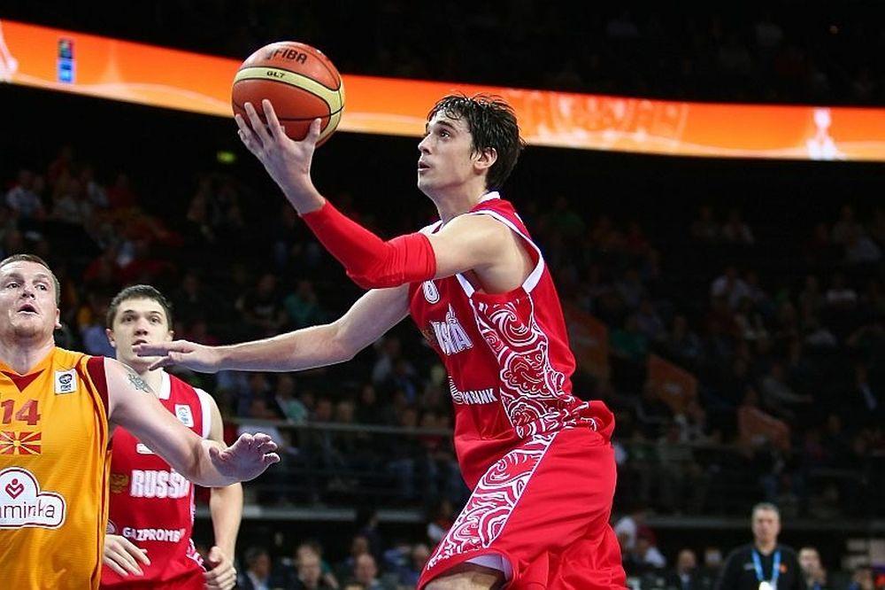 Ρωσία: Η 12άδα για το Ευρωμπάσκετ