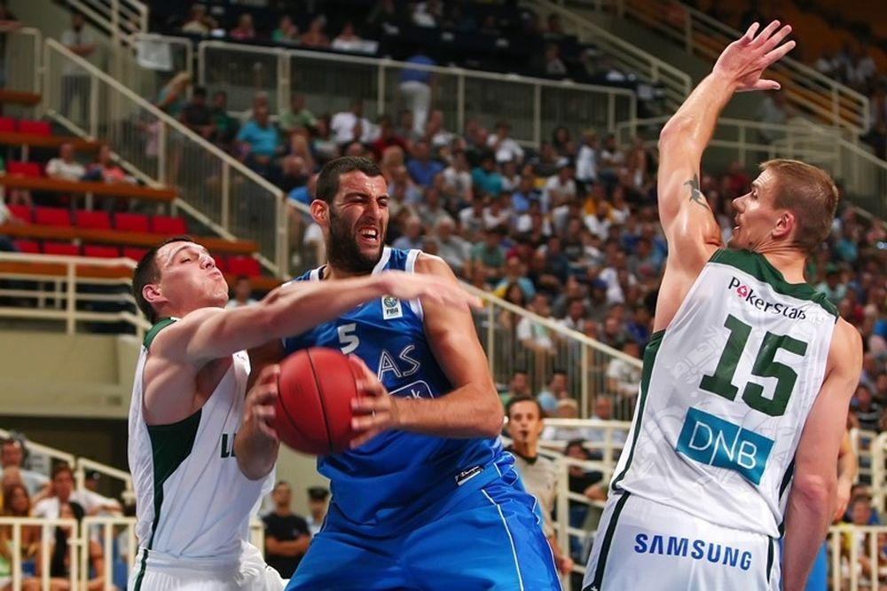 Εθνική Μπάσκετ Ανδρών: Οι καλύτερες φάσεις με Λιθουανία (video)