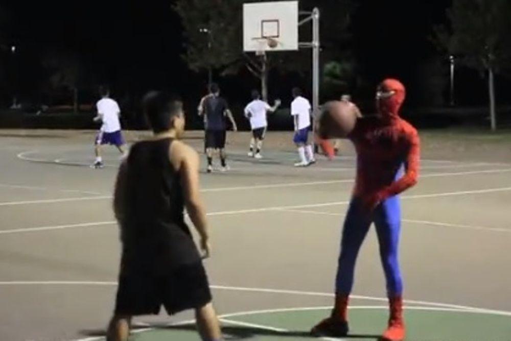 Ο Spiderman του μπάσκετ ξαναχτυπά! (video)