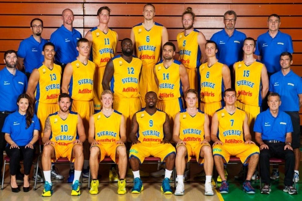 Σουηδία: Οι αντίπαλοι της Ελλάδας στο Ευρωμπάσκετ