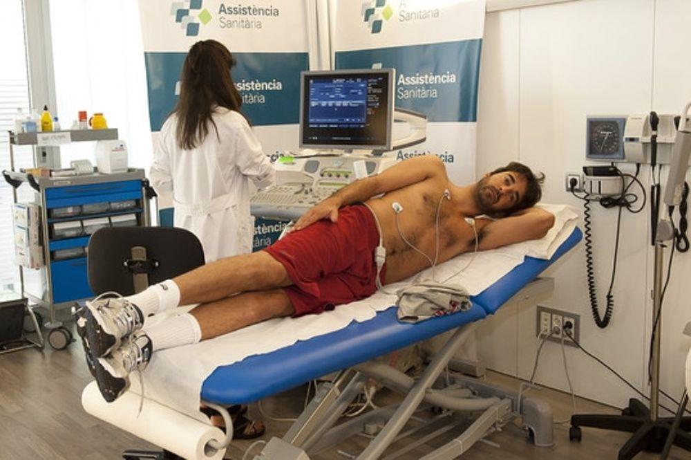 Μπαρτσελόνα: Τα ιατρικά των παικτών (photos)