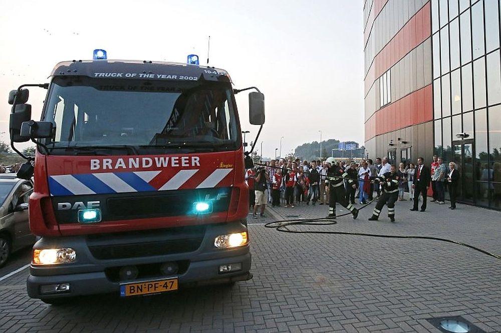 Η φωτιά στο AFAS Stadion (video)