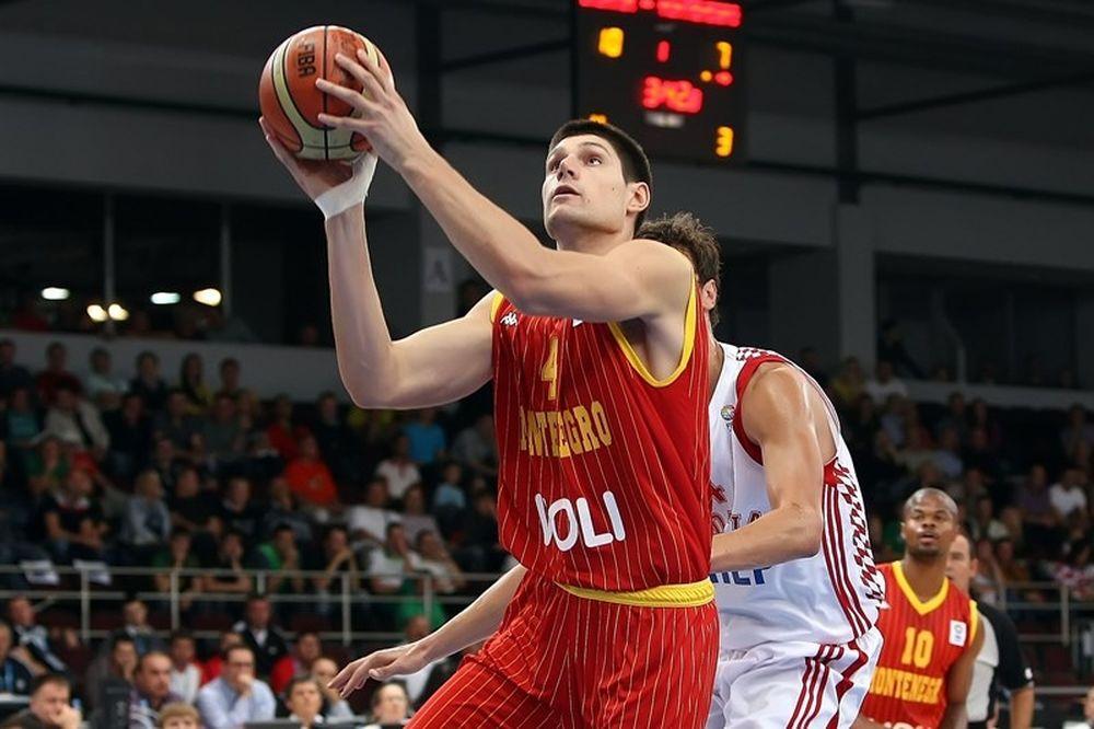 Μαυροβούνιο: Με Βούτσεβιτς στο Ευρωμπάσκετ