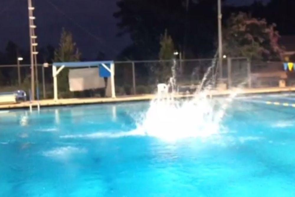 Λος Άντζελες Λέικερς: Η βουτιά του Κόμπι από τα 10 μέτρα! (video)