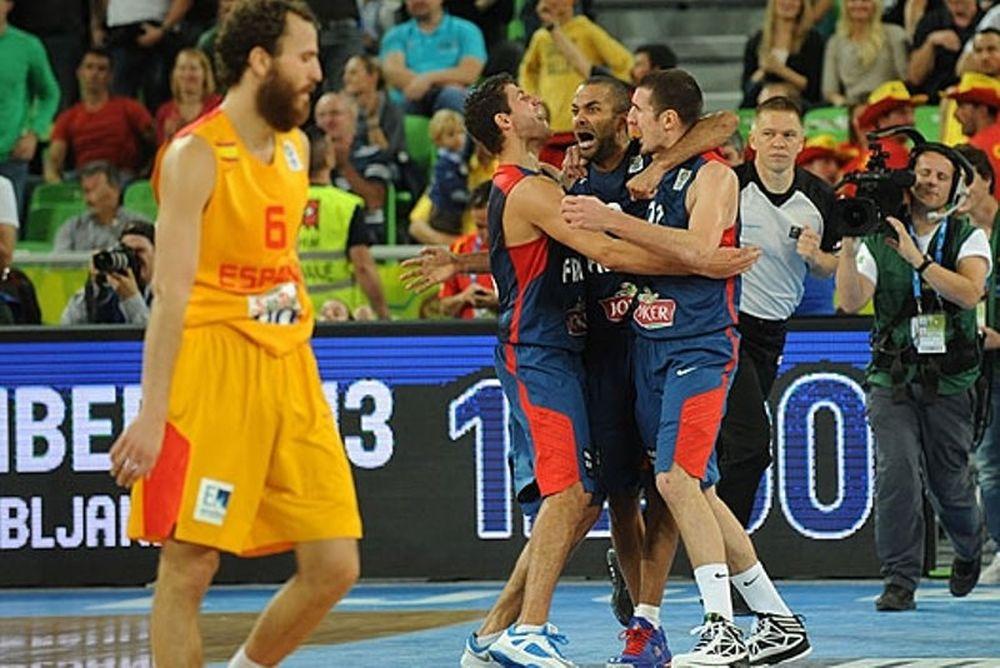 Ευρωμπάσκετ 2013: Τα καλύτερα από το Ισπανία - Γαλλία (videos)