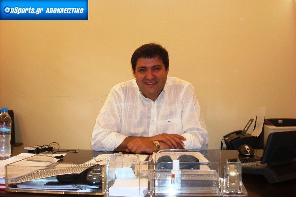 Παπακωνσταντίνου στο Onsports: «Αναβάθμιση ποιότητας στη Γ' Εθνική»