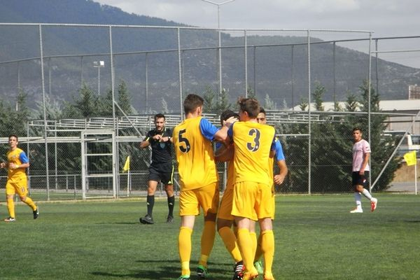 Αστέρας Τρίπολης-Καλλονή 3-0 (Κ20)