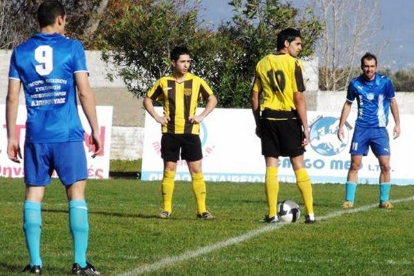Αστέρας Αμαλιάδας – Αχαϊκή 0-1