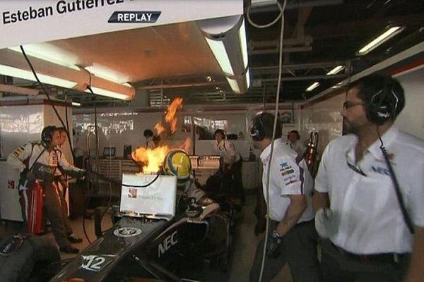 Ζάουμπερ: Στις… φλόγες ο Γκουτιέρεζ! (photos+video)