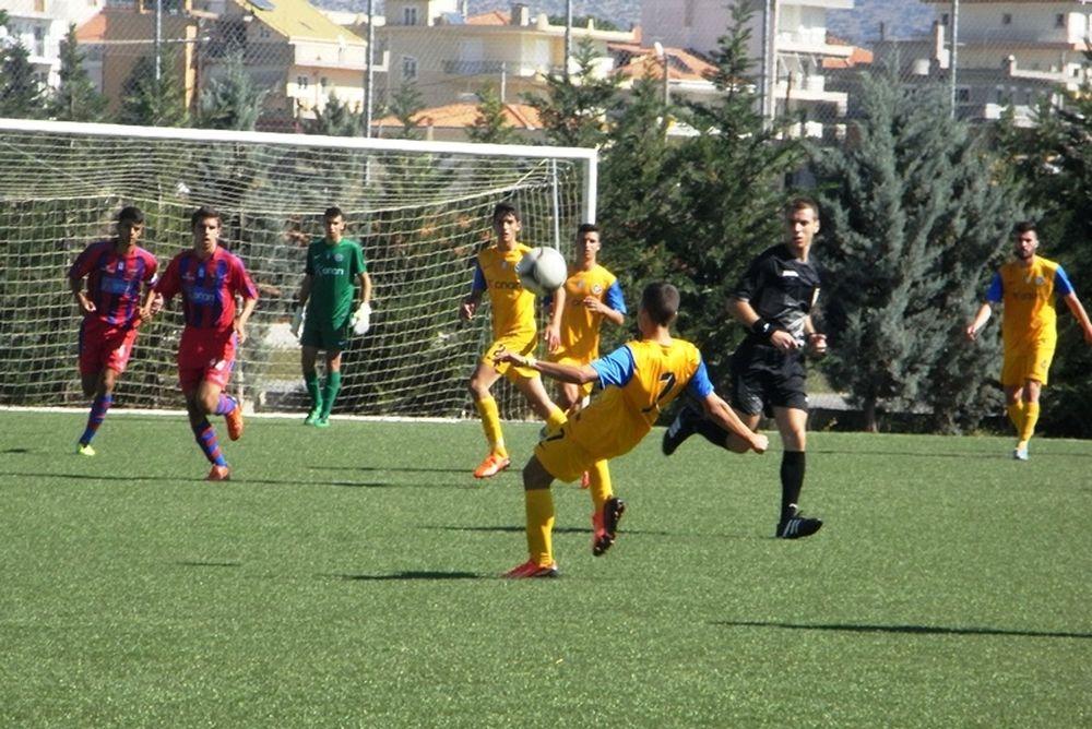 Αστέρας Τρίπολης-Πανιώνιος 1-0 (Κ17)