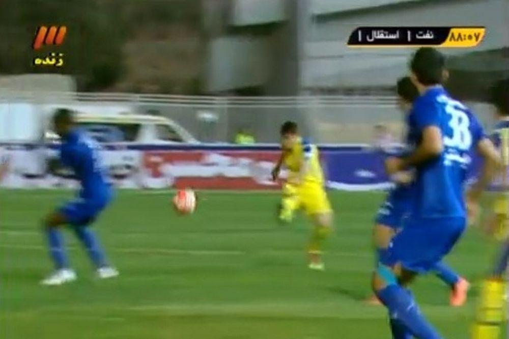 Γκολ... χαλί από την Περσία! (video)
