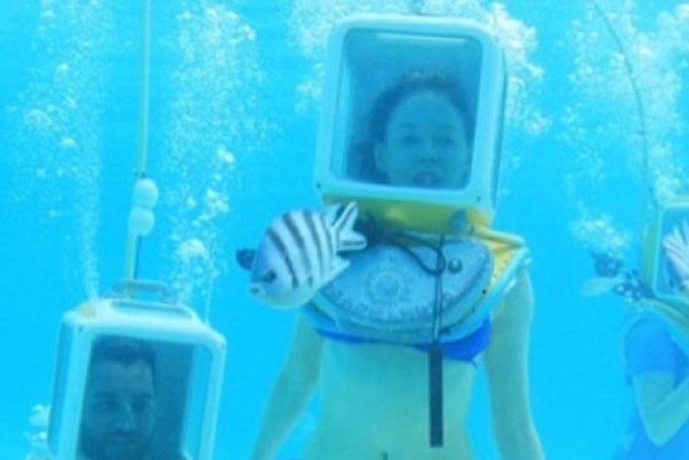 Ποια διάσημη ηθοποιός γιόρτασε τον μήνα του μέλιτος κάτω από το... νερό;