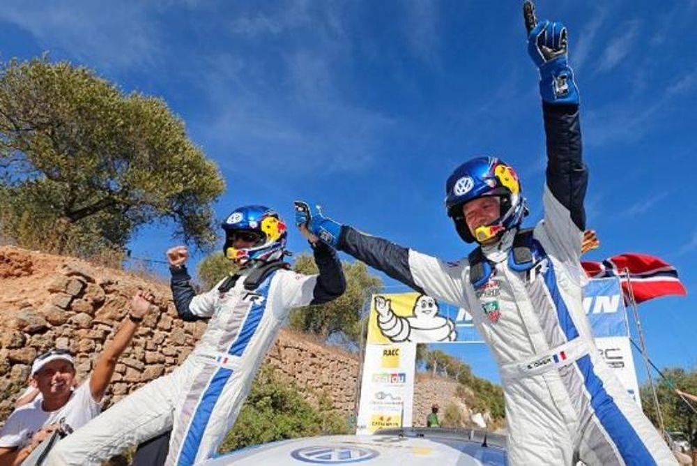 Ράλι Ισπανίας: Ο Οζιέ έχρισε την Volkswagen πρωταθλήτρια (photos+videos)