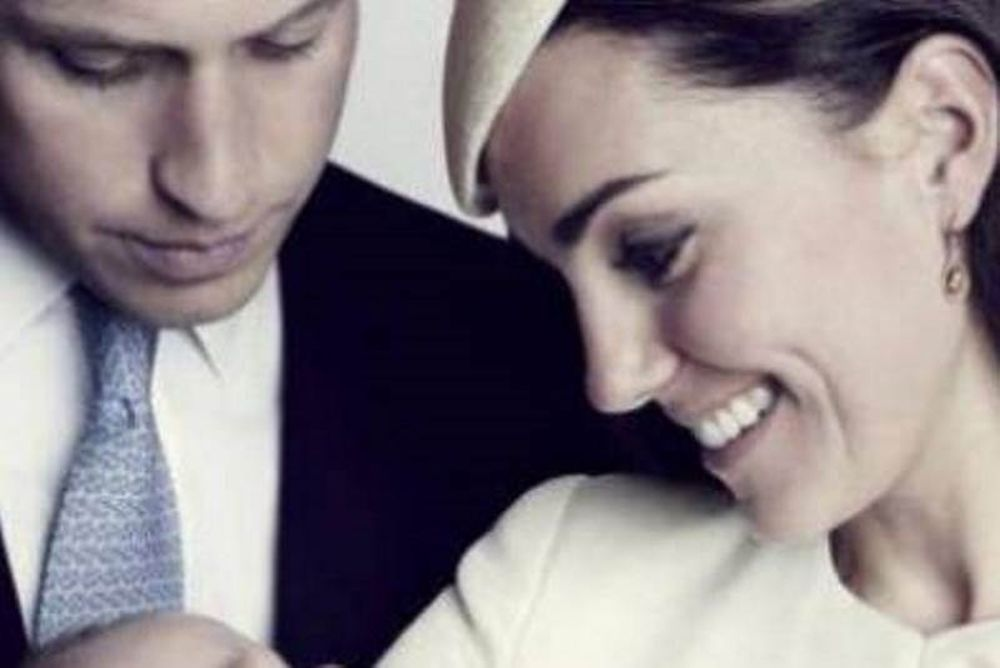 Kate Middleton - Πρίγκιπας William: Η νέα φωτογραφία από την βάπτιση του γιου τους