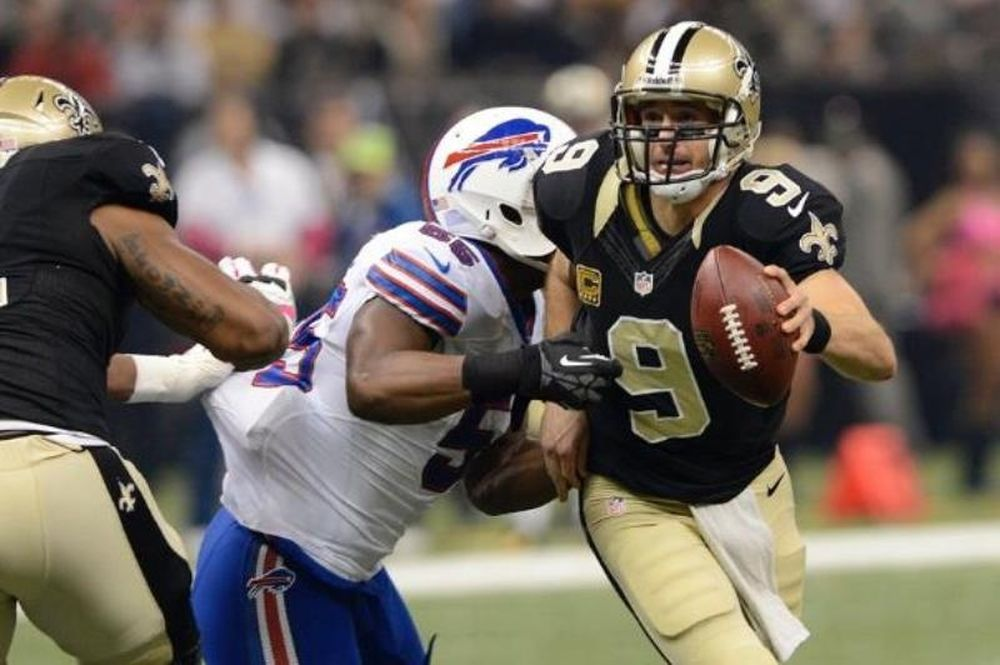 NFL: Πέντε touchdowns για Brees! (videos)