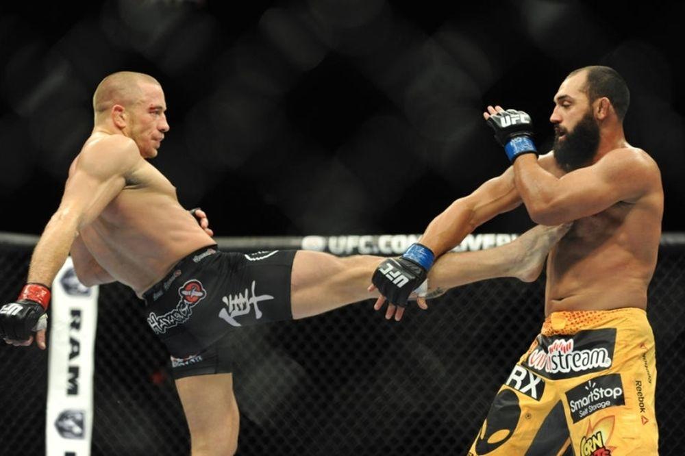 UFC 167: Με το ζόρι πρωταθλητής και… μαχητής ο St. Pierre (GIFs)