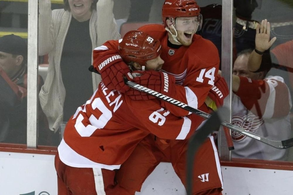 NHL: Επιτέλους νίκη για Ρεντ Ουίνγκς (videos)