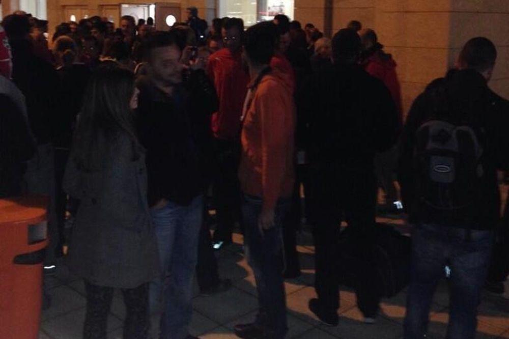 Ολυμπιακός: «Ερυθρόλευκη» υποδοχή στην Αλεξανδρούπολη