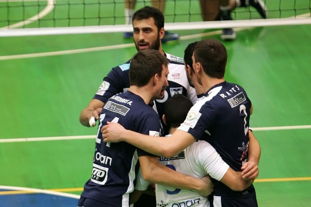 Volleyleague: Ασταμάτητα... πρώτος ο Εθνικός, ανάσα για Παμβοχαϊκό